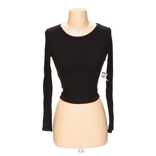 Body Central Basic Long-Sleeved Shirt in size S at up to 95% Off - Swap.com