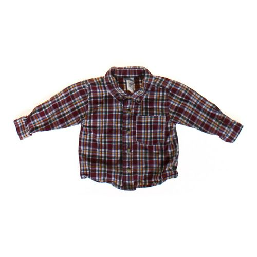 Starting Out Basic Plaid Shirt in size 12 mo at up to 95% Off - Swap.com