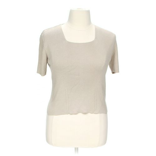 dressbarn Basic Shirt in size L at up to 95% Off - Swap.com