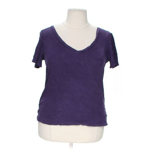 Style & Co Basic T-shirt in size 1X at up to 95% Off - Swap.com