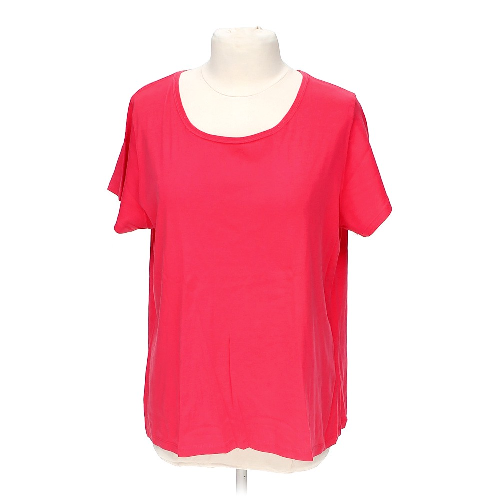 Pink St John 39 S Bay Basic Tee In Size Xl At Up To 95 Off