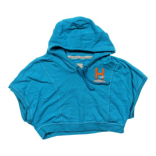 Hollister Batwing Logo Hoodie in size JR 11 at up to 95% Off - Swap.com