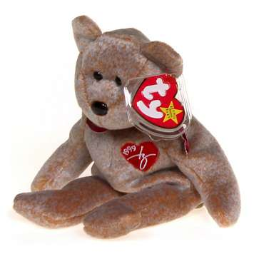 Ty 1999 Signature Ty Beanie Baby bear - Retired ea78601fb4