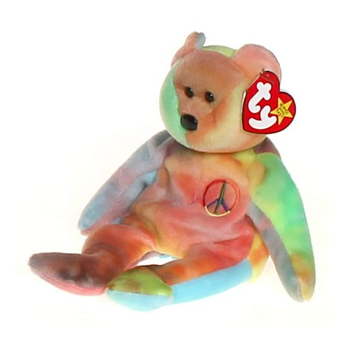 Ty Beanie Baby Bear Peace at up to 95% Off - Swap.com