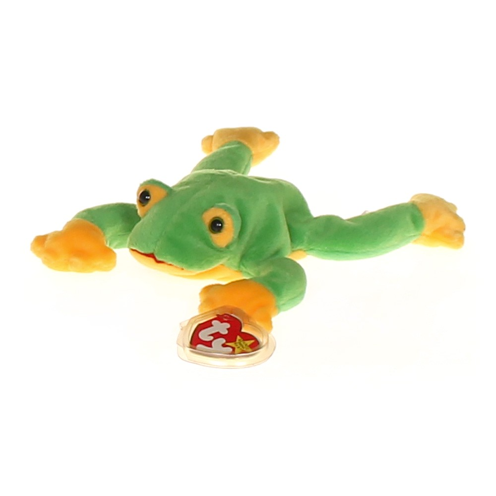 Ty Beanie Baby Frog at up to 95% Off - Swap.com b64cd399bf4