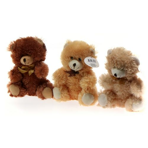 Fuzzy Friends Bear Plush Set at up to 95% Off - Swap.com