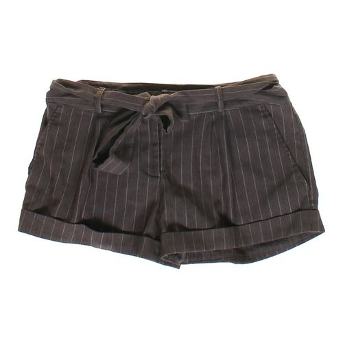 Xhilaration Belted Striped Cuffed Shorts in size JR 11 at up to 95% Off - Swap.com