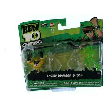 Ben 10 Shocksquatch & Ben Figurines for Sale on Swap.com
