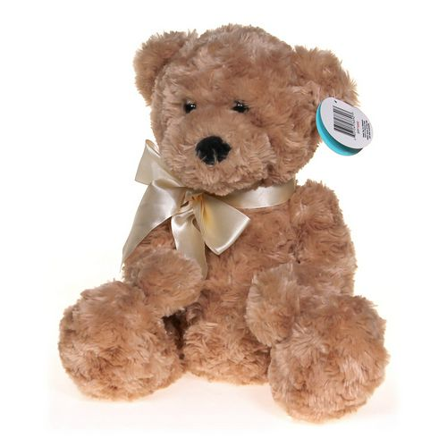 "Beverly Hills Beverly Hills Teddy Bear 18"" Honey Colored Curly Bear at up to 95% Off - Swap.com"