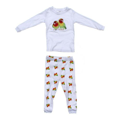 Leveret Birds Pajamas Set in size 2/2T at up to 95% Off - Swap.com