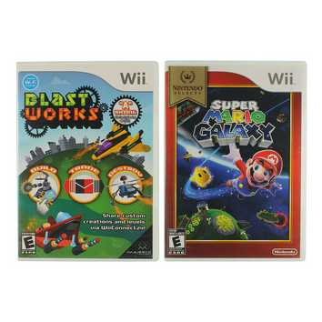 Blast Works & Super Mario Galaxy for Sale on Swap.com