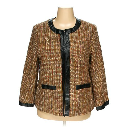 T RENZ by theresa renz Blazer in size 2X at up to 95% Off - Swap.com