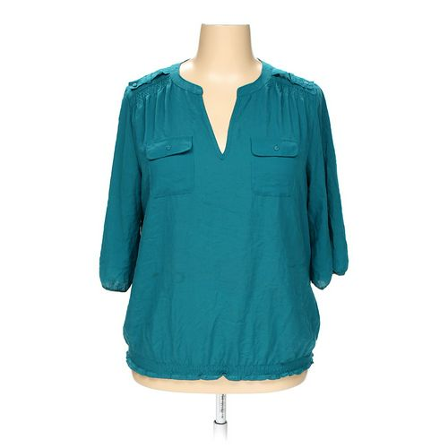 a.n.a Blouse in size 1X at up to 95% Off - Swap.com