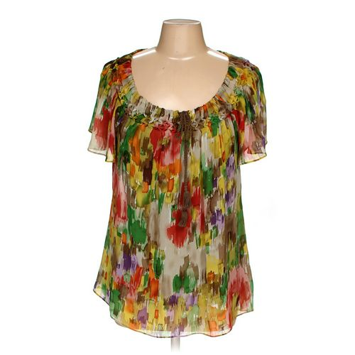 August Silk Blouse in size M at up to 95% Off - Swap.com