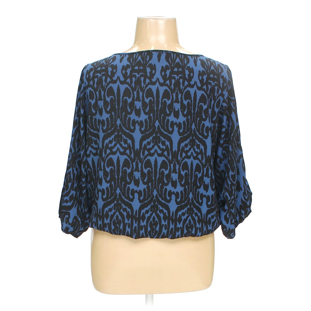 Blue Navy Cato Blouse In Size 16 At Up To 95 Off Swap Com
