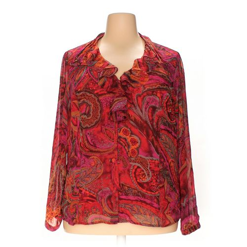 Coldwater Creek Blouse in size 2X at up to 95% Off - Swap.com
