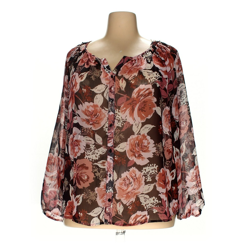 8b73c02b012 Croft   Barrow Blouse in size 1X at up to 95% Off - Swap.