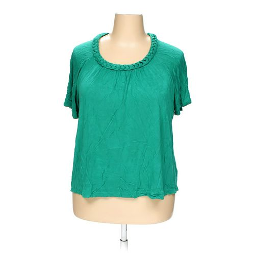 Croft & Barrow Blouse in size 2X at up to 95% Off - Swap.com