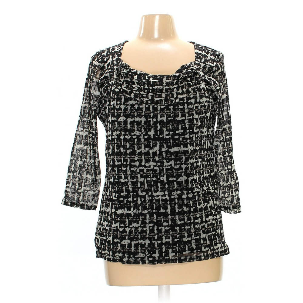 1c60ef403a9856 Dana Buchman Blouse in size L at up to 95% Off - Swap.com