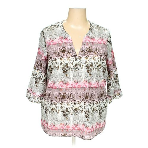 dressbarn Blouse in size 22 at up to 95% Off - Swap.com