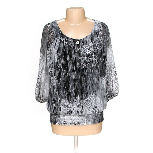 dressbarn Blouse in size L at up to 95% Off - Swap.com