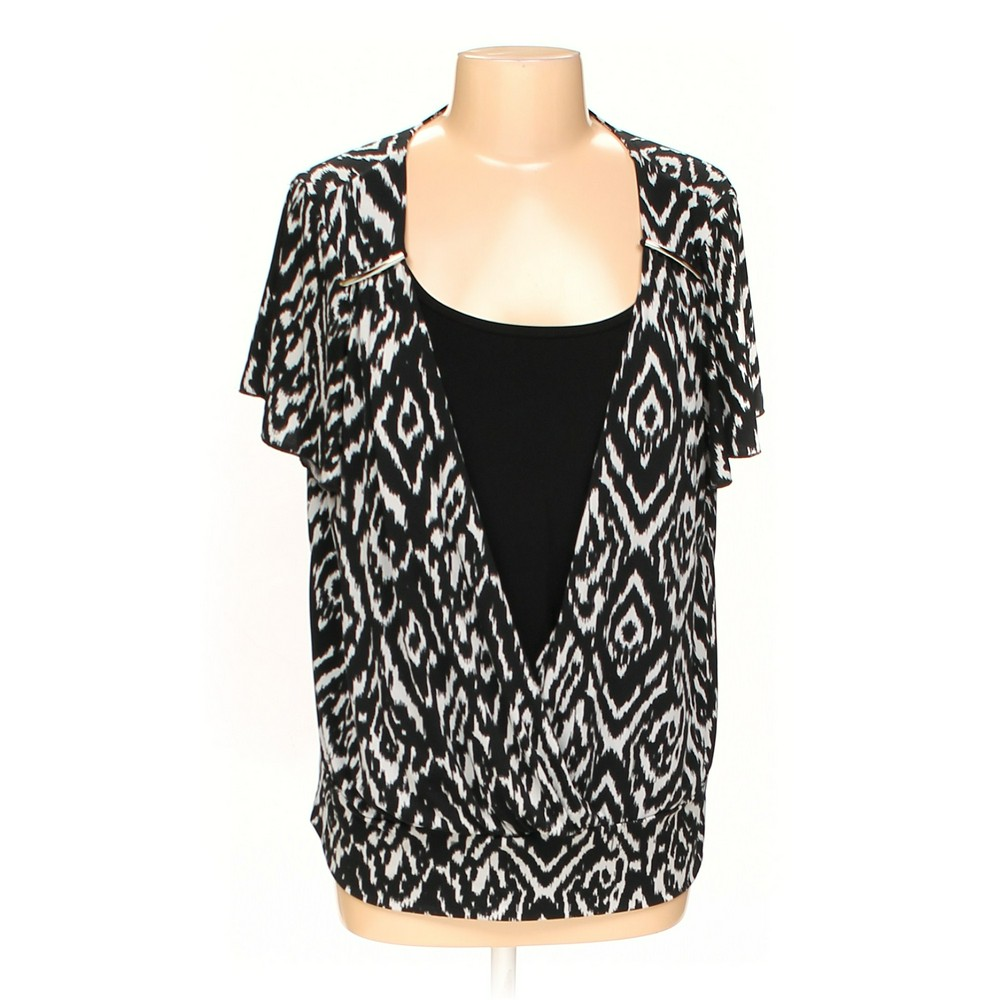 f32fdf7f8ab Elementz Blouse in size 1X at up to 95% Off - Swap.com