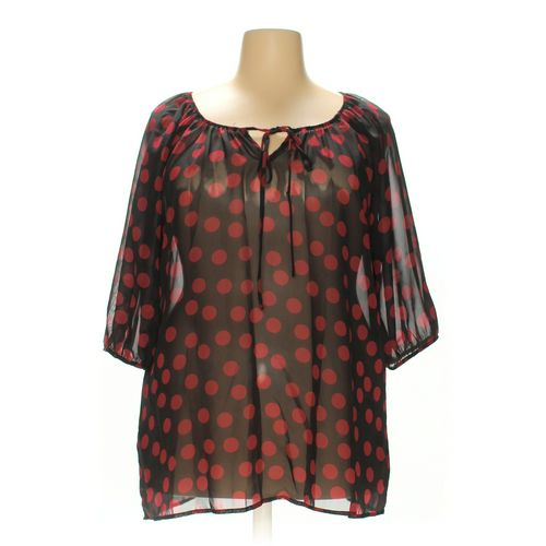 Espresso Blouse in size 1X at up to 95% Off - Swap.com