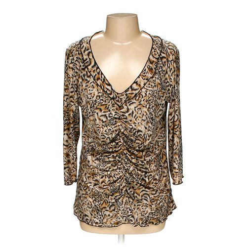 Essentials by Milano Blouse in size L at up to 95% Off - Swap.com