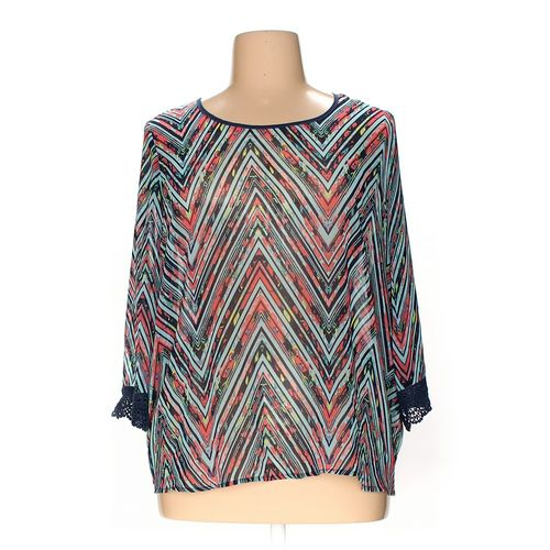 Eyeshadow Blouse in size 2X at up to 95% Off - Swap.com