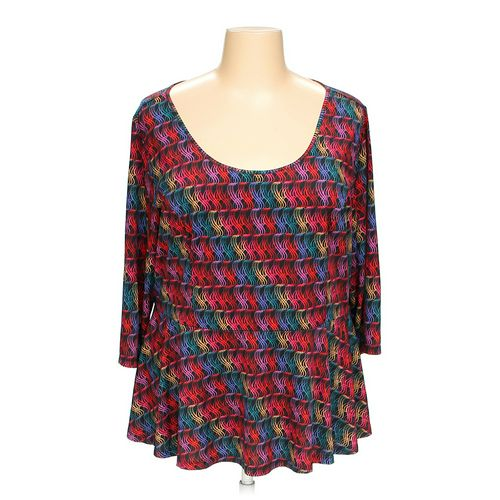 Isabel + Alice Blouse in size 2X at up to 95% Off - Swap.com
