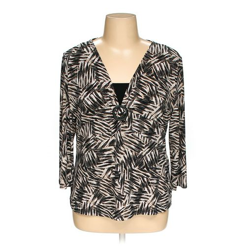 JM Collection Blouse in size XL at up to 95% Off - Swap.com