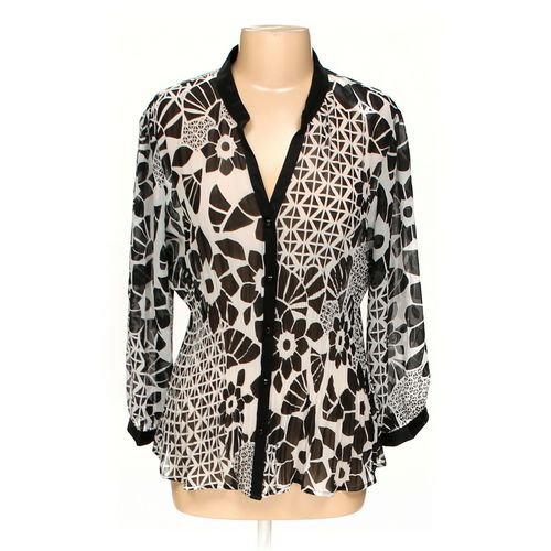 New York City Design Company Blouse in size XL at up to 95% Off - Swap.com