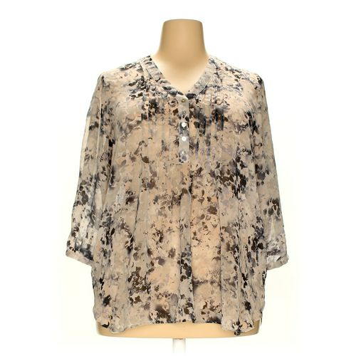 Rose & Olive Blouse in size 2X at up to 95% Off - Swap.com