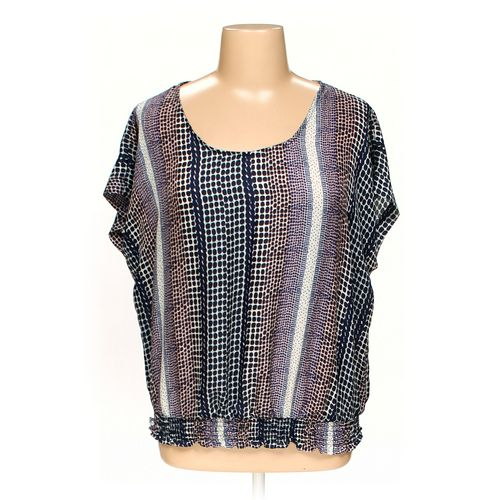 Sapphire Silhouette Blouse in size 1X at up to 95% Off - Swap.com