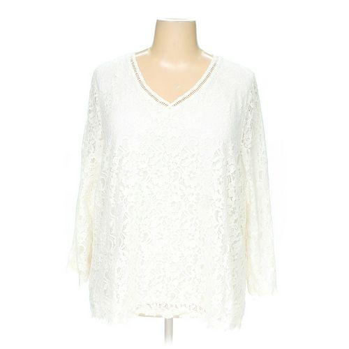 Style & Co Blouse in size 3X at up to 95% Off - Swap.com