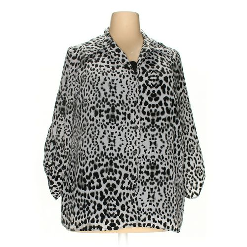 White Stag Blouse in size 2X at up to 95% Off - Swap.com