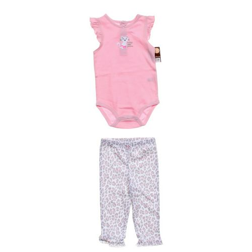 Carter's Bodysuit & Animal Print Leggings in size 12 mo at up to 95% Off - Swap.com