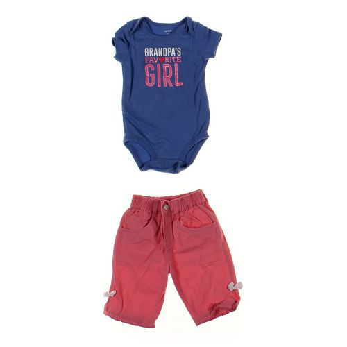 Carter's Bodysuit & Capri Pants Set in size 12 mo at up to 95% Off - Swap.com