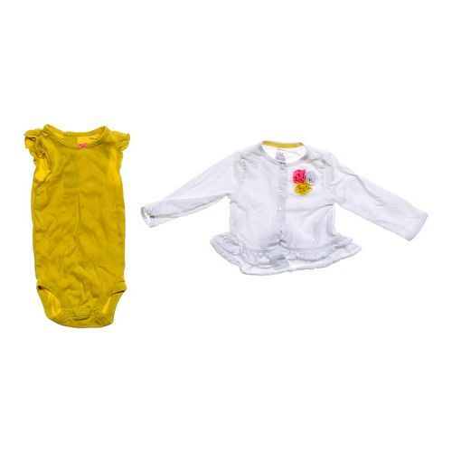 Carter's Bodysuit & Cardigan Set in size 12 mo at up to 95% Off - Swap.com