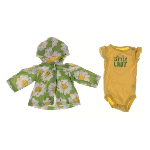 Just One You Bodysuit & Cardigan Set in size 6 mo at up to 95% Off - Swap.com
