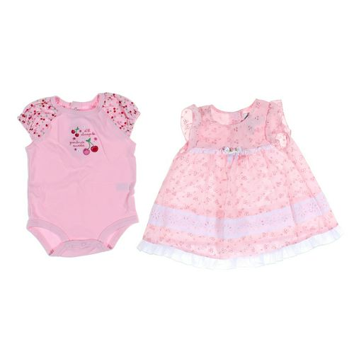 Carter's Bodysuit & Dress Set in size 6 mo at up to 95% Off - Swap.com