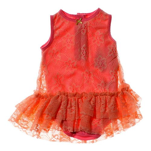 Baby Starters Bodysuit Eyelet Tulle Dress in size 6 mo at up to 95% Off - Swap.com