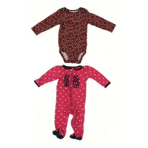 Carter's Bodysuit & Footed Pajamas Set in size 9 mo at up to 95% Off - Swap.com