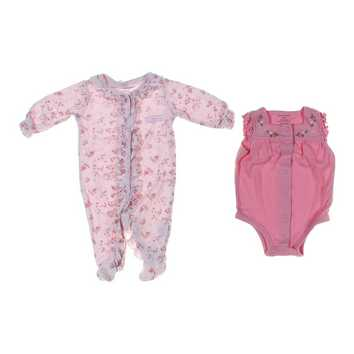Bodysuit & Footed Pajamas Set for Sale on Swap.com
