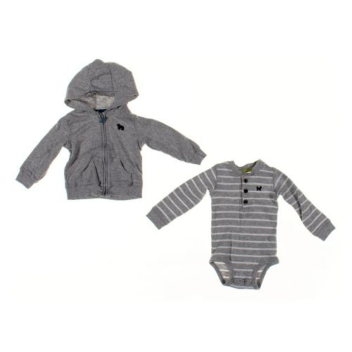 Carter's Bodysuit & Hoodie Set in size 12 mo at up to 95% Off - Swap.com