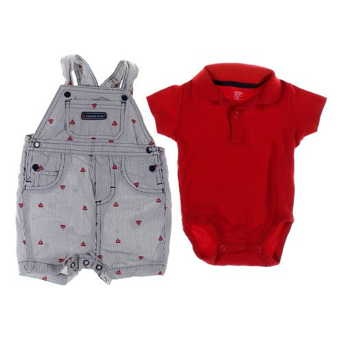 Just One You Bodysuit & Overalls Set in size 3 mo at up to 95% Off - Swap.com
