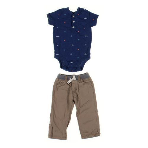 Carter's Bodysuit & Pants Set in size 12 mo at up to 95% Off - Swap.com