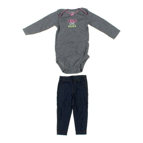 Carter's Bodysuit & Pants Set in size 9 mo at up to 95% Off - Swap.com