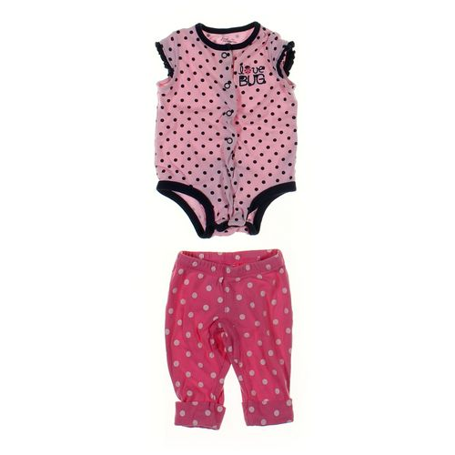 First Moments Bodysuit & Pants Set in size 3 mo at up to 95% Off - Swap.com