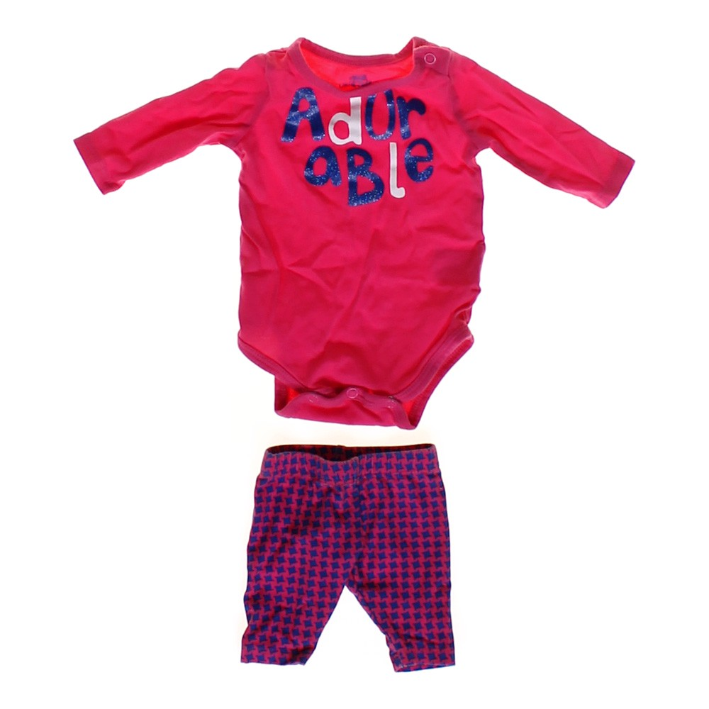 ae8f065b27f2a Okie Dokie Bodysuit   Pants Set in size NB at up to 95% Off -